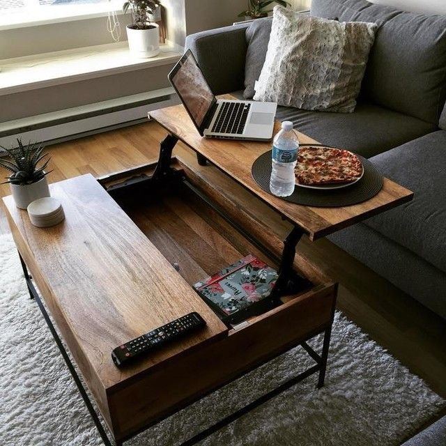 Storage Coffee Table Small 36 Cafe Apartment Therapy Apartments And Lofts