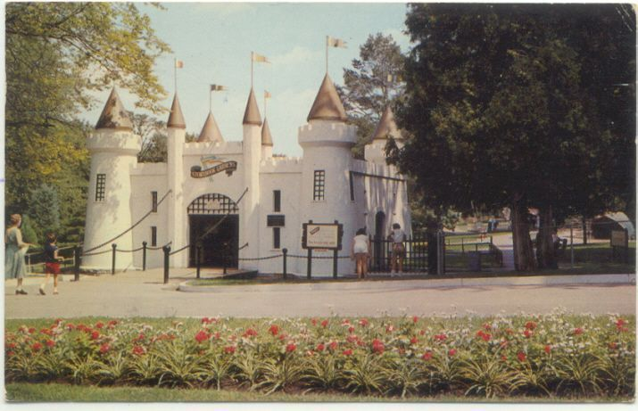 London Ontario Entrance Castle TO Storybook Gardens Postcard Canada | eBay