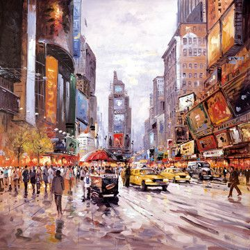Morning in Times Square by Henderson Cisz £850