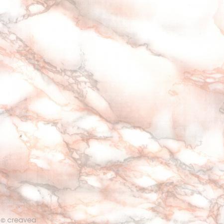 Adhésif Venilia Marbre - Marmorosa - 200 x 45 cm - Photo n°1 9,5€