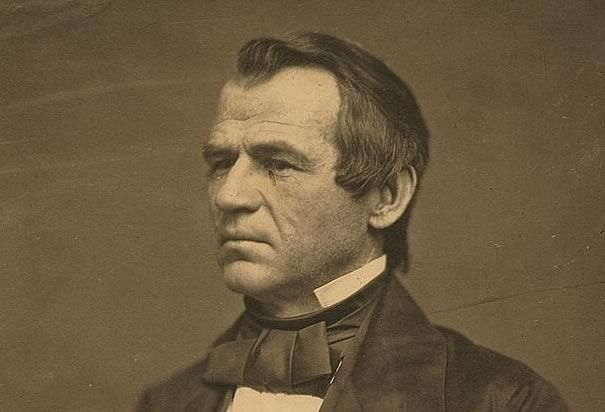 Andrew Johnson was slurring-level drunk during his inauguration, which he claims was part of an effort to self-medicate for typhoid fever. Eventually he had to abandon his swearing-in of new senators because he was too intoxicated.