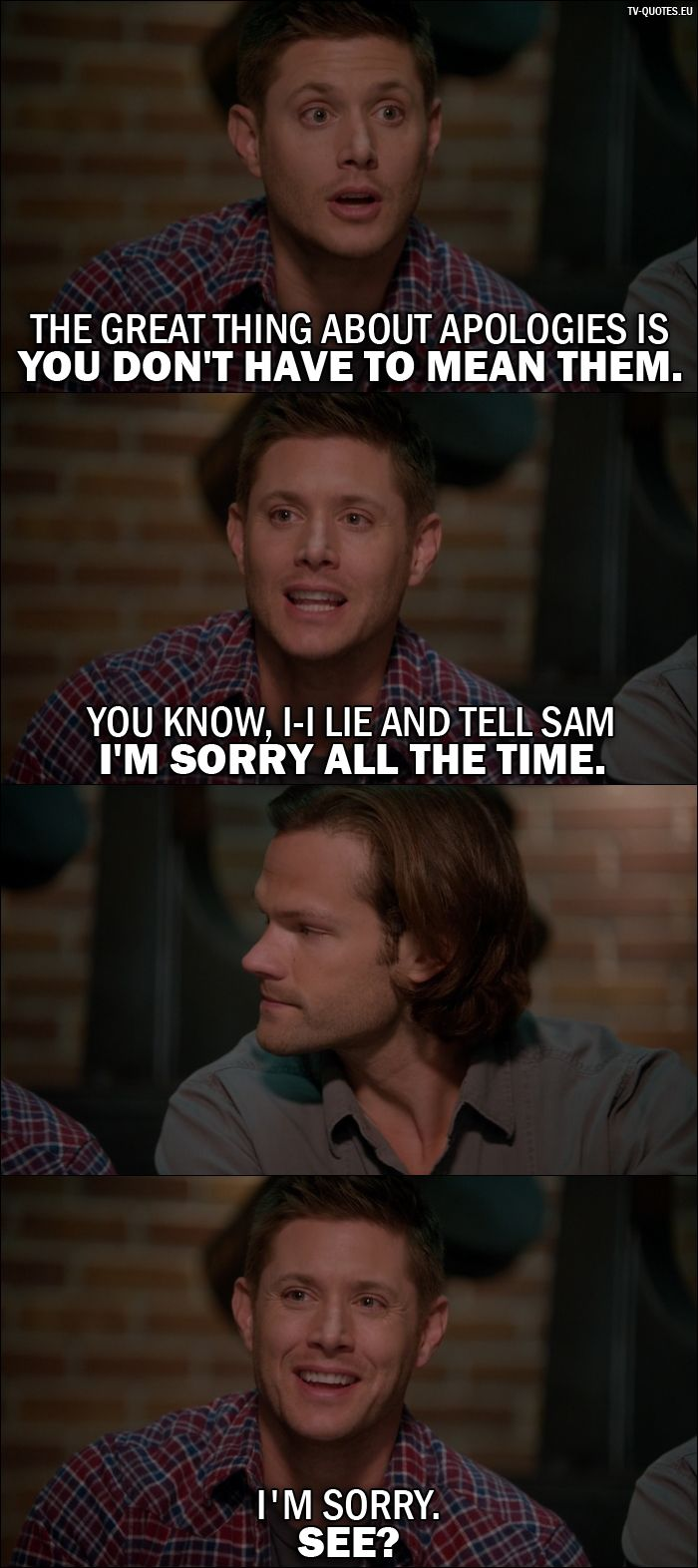 16 Best Supernatural Quotes from We Happy Few (11x22)   TV Quotes