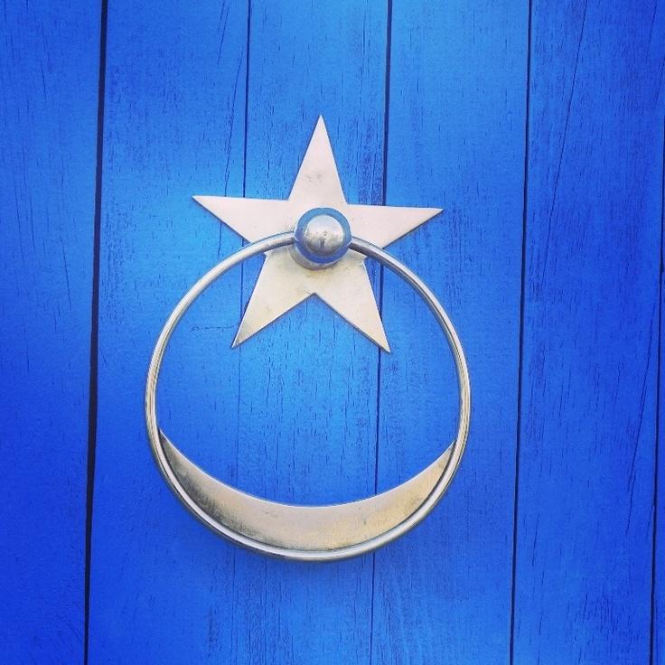 A door knock in Datca