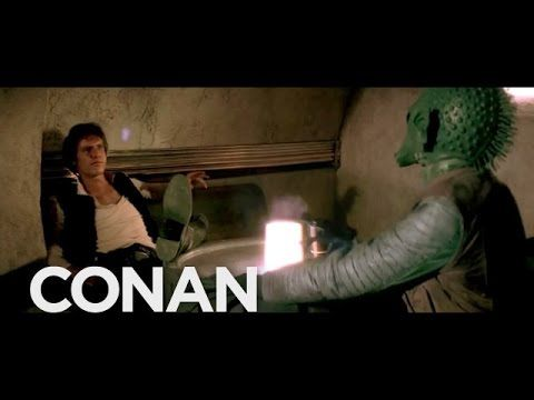 Conan O'Brien Finally Settles the Controversy Over Who Shot First, Han Solo or Greedo