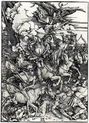 Four Horsemen of the Apocalypse  by Albrecht Durer