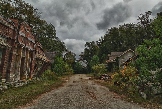 Deserted places in alabama