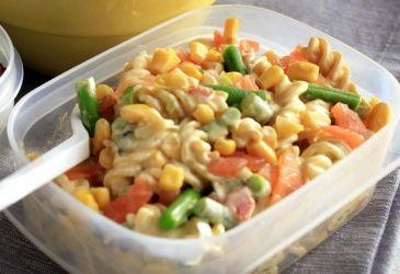 Kremen pass salat med røkelals