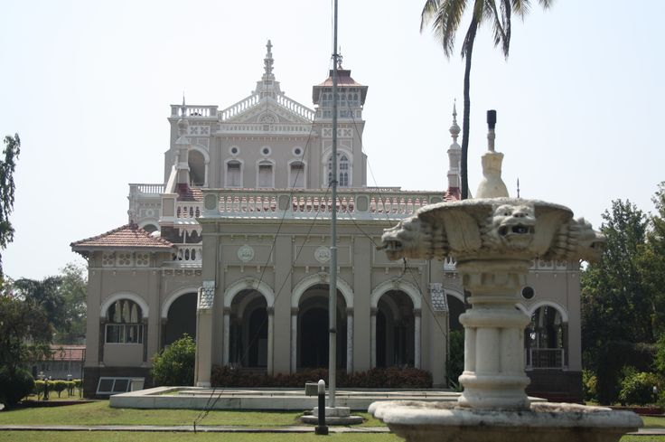 Amazing #Historical_Places in #Pune – Aga Khan #Palace - Aga Khan Palace is located in #Yerawada on Pune-Nagar road. This palace was built by Sultan Muhammed Shah Aga Khan III in 1892. #travel #tourism #desination #attraction
