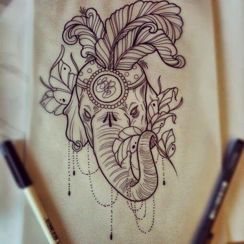 50 Coolest Elephant Tattoos Ideas For Girls | Ink Tattoo Art