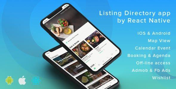 Listapp V1 7 1 Listing Directory Mobile App By React Native