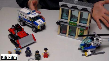 Ich stelle in dem neuem Video das Set LEGO® City 60140 - Polizei Bankraub mit Planierraupe vor! Schaut euch das Video an und viel Spaß! Link in meiner Bio! I imagine in this new Video the Set LEGO® City 60140 - Bulldozer Break-in! Checkt the Video out and have fun! Link in my Bio!