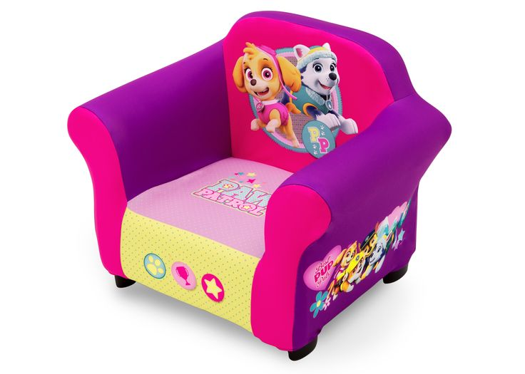 Nick Jr Paw Patrol Skye Amp Everest Upholstered Chair With