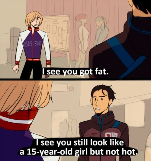 Blades of Glory x Yuri on Ice. #yurionice #yurikatsuki #yuriplisetsky