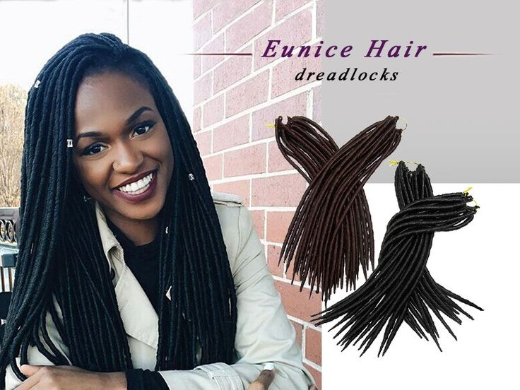 Eunice HairSynthetic crochet faux locs braids, inventory