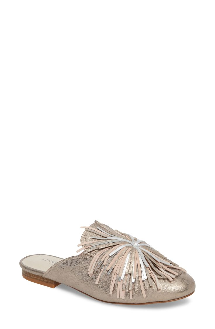 Buy KENNETH COLE NEW YORK Wallice Firework Fringe Loafer Mule for shopping. New KENNETH COLE NEW YORK Shoes. [$130] SKU UZVR65222IUTI64727