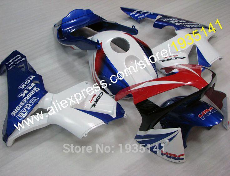 Hot Sales,For Honda CBR600RR 2003 2004 Factory Color 03 04 CBR 600 RR HRC ABS Sports Bike Moto Fairing Kit (Injection molding) #Affiliate