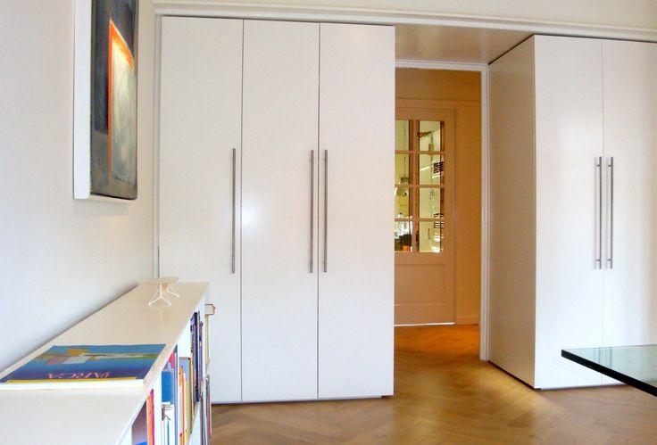 Frank Weil - jaren 30 appartement - interieur - inbouwkasten