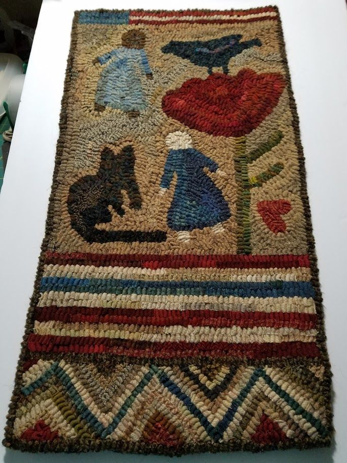 With Hook And Needle Another Rug Sale Rugs And Such Pinterest