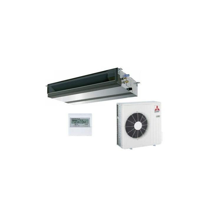 Modelo  SPEZS 71 VJA  Aire acondicionado Mitsubishi Electric Conductos Standar Inverter SPEZS-71VJA  Potencia frigorífica 6.106 (kcal/h) Potencia calorífica 6.880 (kcal/h) INVERTER  Por solo: 1.448€