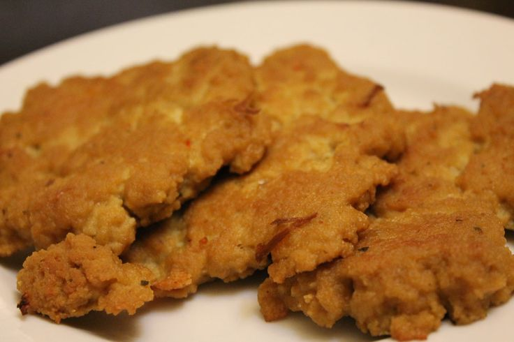 chicken style seitan cutlets // the tolerant vegan