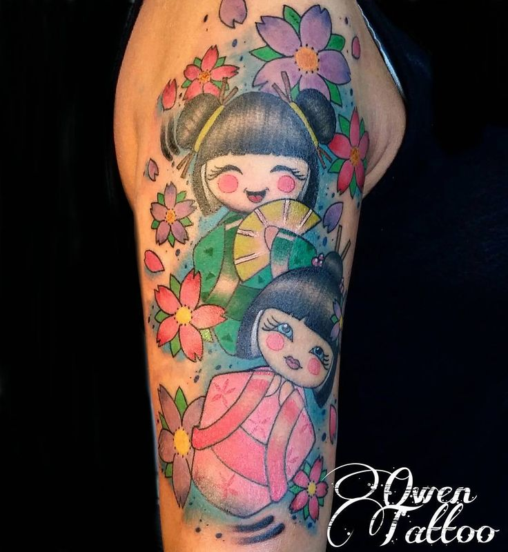25 Japanese Katakana Tattoos: 25+ Best Ideas About Kokeshi Tattoo On Pinterest