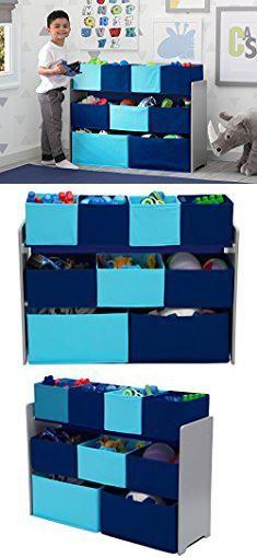 Storage With Bins Delta Children Deluxe Multi Bin Toy Organizer