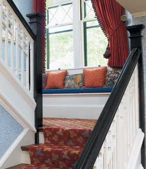 Decorative Pillows For Every Era. Stair LandingWindow SeatsAccent ...