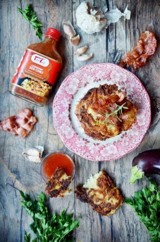 Tao Tao - Placki ziemniaczano-bakłażanowe TaoTao - orientalne przepisy kulinarne