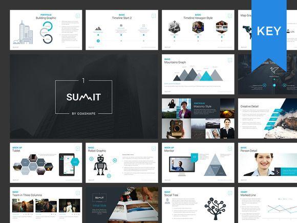 Summit Keynote Presentation + BONUS ~ Presentation Templates on Creative Market