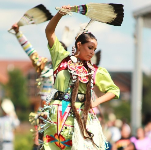 Jingle dress dancer charlie curry #PowWow #Native Beautiful Culture!