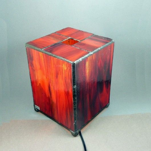 Lampa nastrojowa. Kostka Tiffanego / Mood Lamp. Tiffany's cube, Perfect one :)