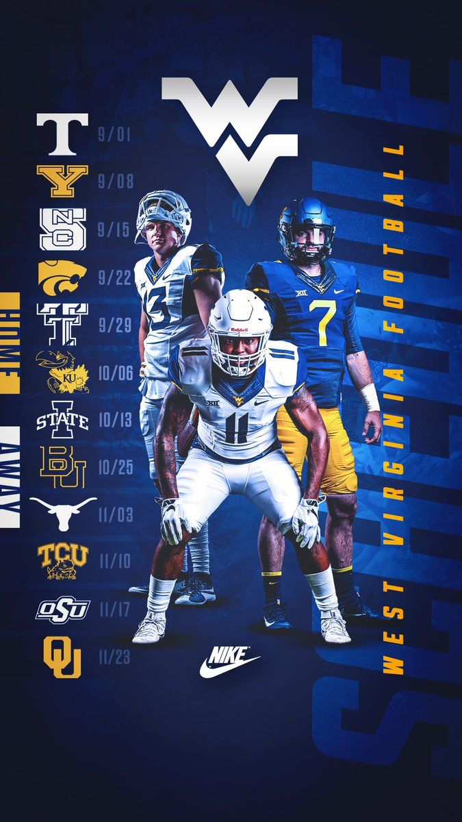 West Virginia College Sports Graphics Sports Design Inspiration College Sports Poster