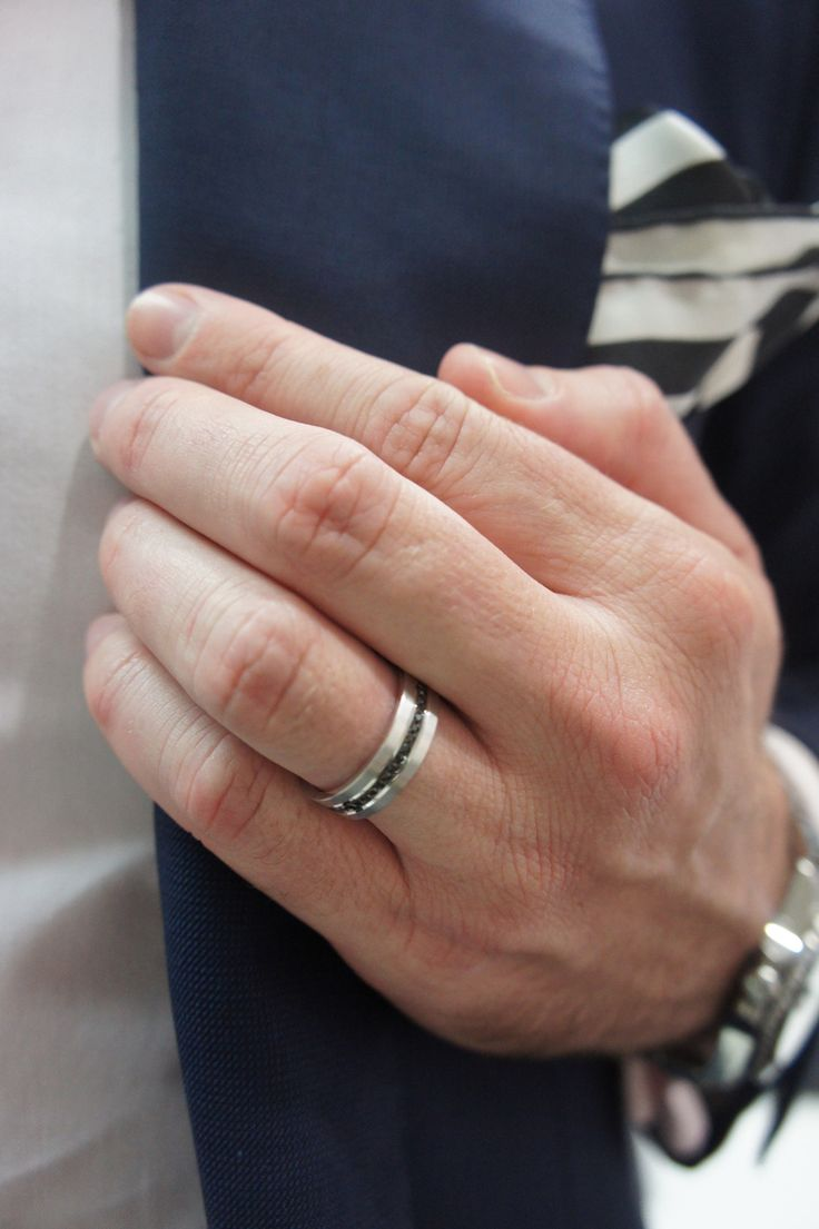 Something Different for Mens Wedder... x Nicholas Haywood Jewellery Concierge - Black Diamond Row Band Ring, $2,500.00 (http://nhjc.mybigcommerce.com/black-diamond-row-band-ring/)