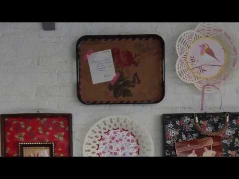 Παλιοί δίσκοι κορνίζες τοίχου - YouTube