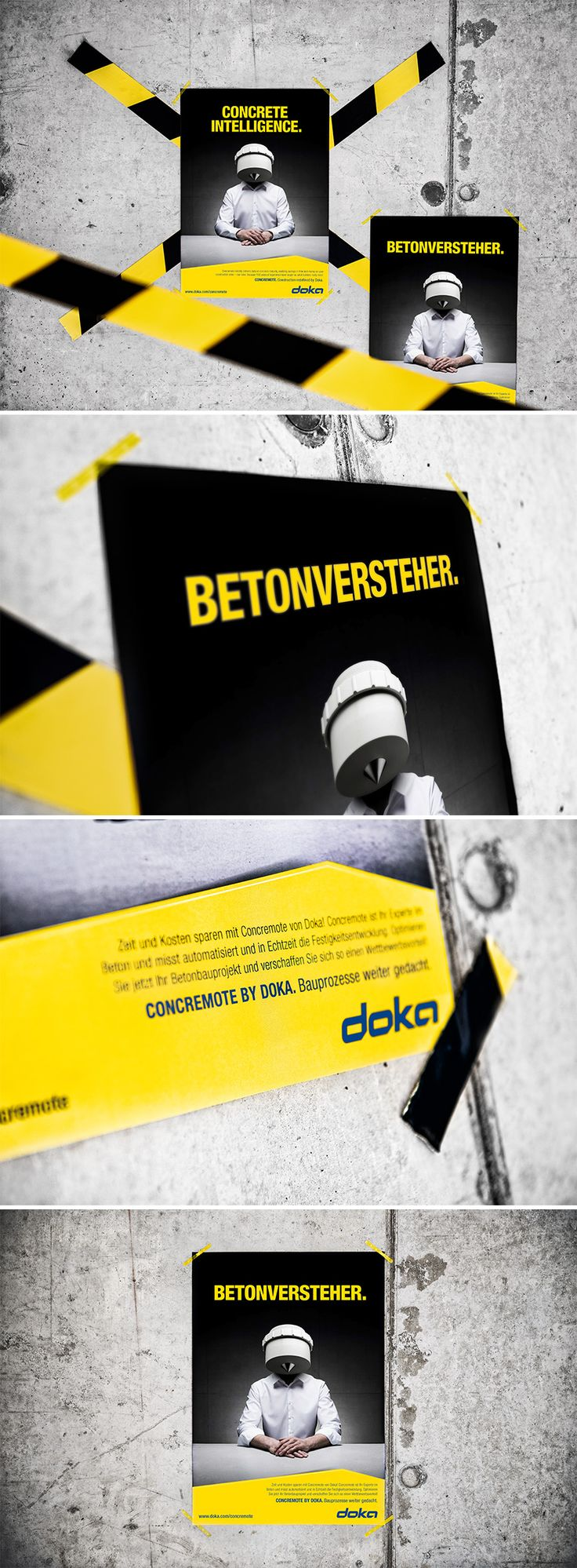 DOKA // Concremote by www.lunik2.com #concremote #design #marketing #befirst