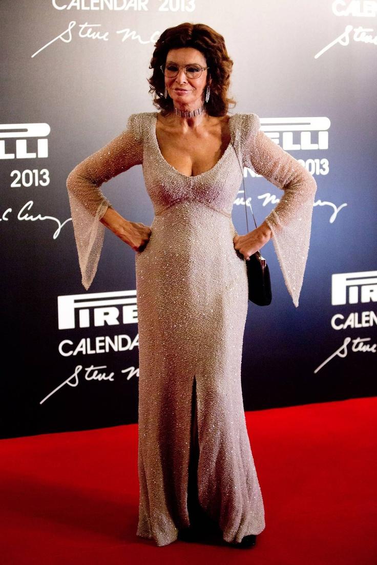 Sophia Loren @ the Pirelli Calendar Launch Party in Rio de Janeiro