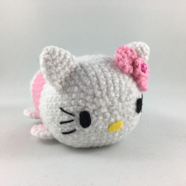 Amigurumi Hello Kitty Yapimi : De 25+ basta ideerna om Hello kitty crochet bara p? ...
