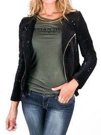Jacket Weston chaqueta lentejuelas  Silvian Heach