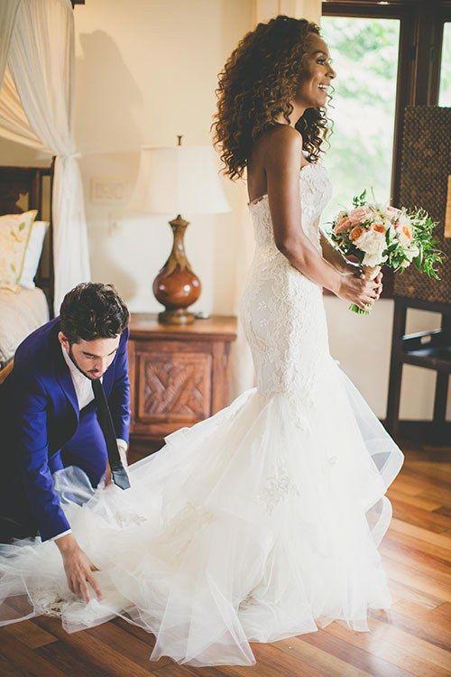 Janet Mock Wedding Photos: See Her Hawaiian Wedding to Aaron Tredwell