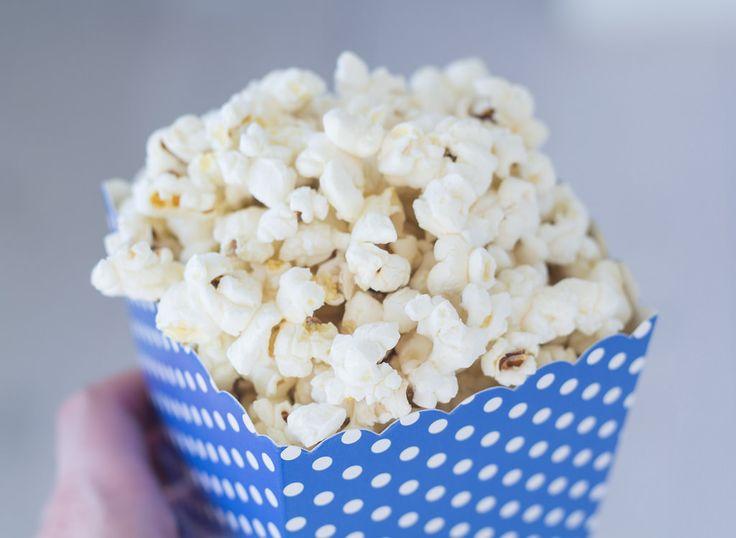Opskrift på hjemmelavede Popcorn i gryde