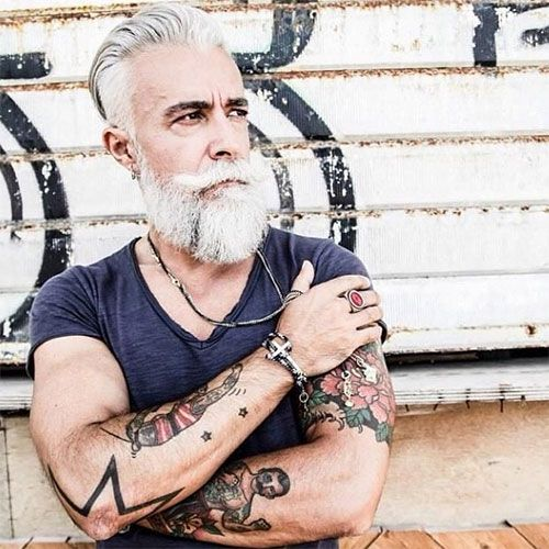 tattoos on older people..no regrets