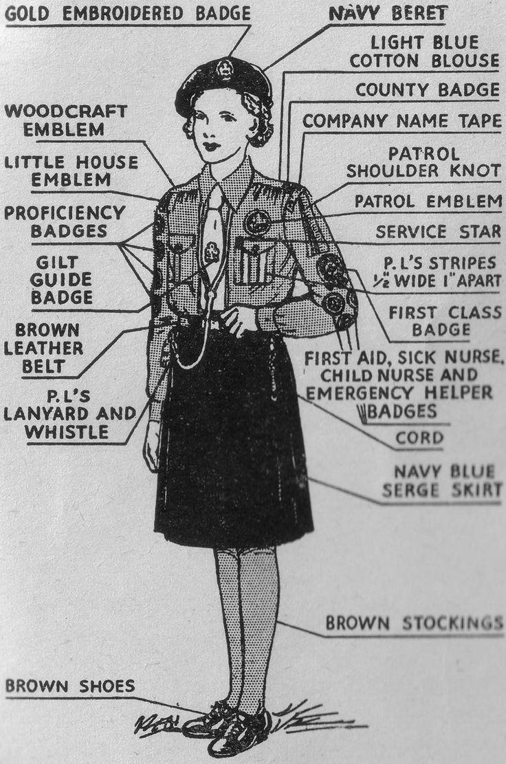1950's boy scout uniform guide - Google Search