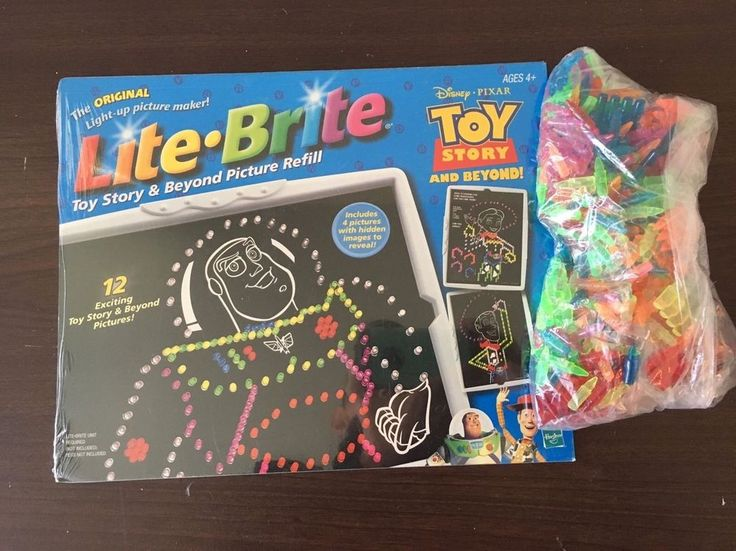 Lite Brite Toy Story & Beyond Refill 12 Sheets New In Package NIP & 475 Pegs  | eBay