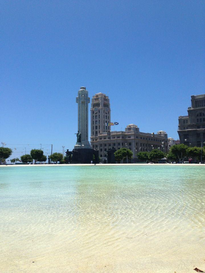 playa de los cristianos, arona, tenerife