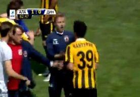 20-May-2013 10:01 - TWEE VLIEGEN IN ÉÉN KLAP. Het duel tussen Alania Vladikavkaz en Dinamo Moskou, op de voorlaatste speeldag in de Russische voetbalcompetitie, liep gisteren volledig uit de…...