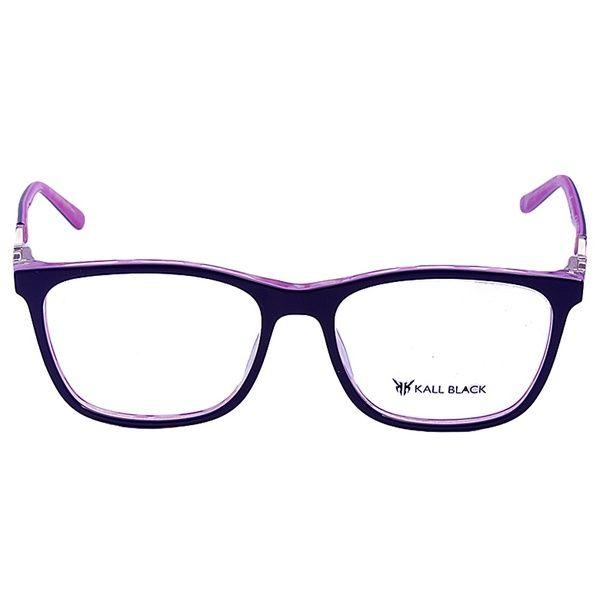 Armacao Para Oculos De Grau Feminino Kallblack Af6219 Azul Armacoes De Oculos Oculos De Grau Feminino Oculos De Grau