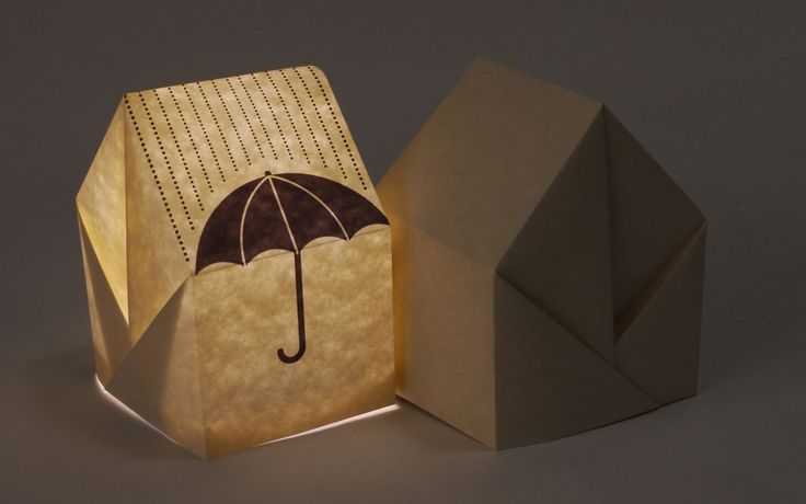 Origami houses