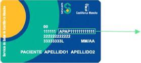 modelo de tarjeta sanitaria