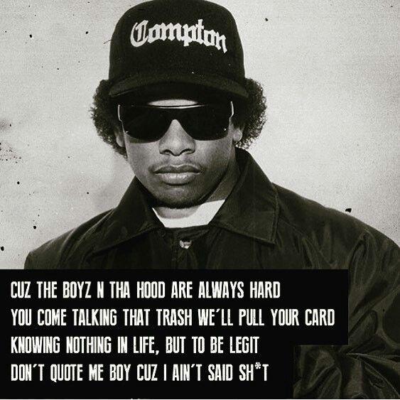 Straight Outta Compton  Eazy-E
