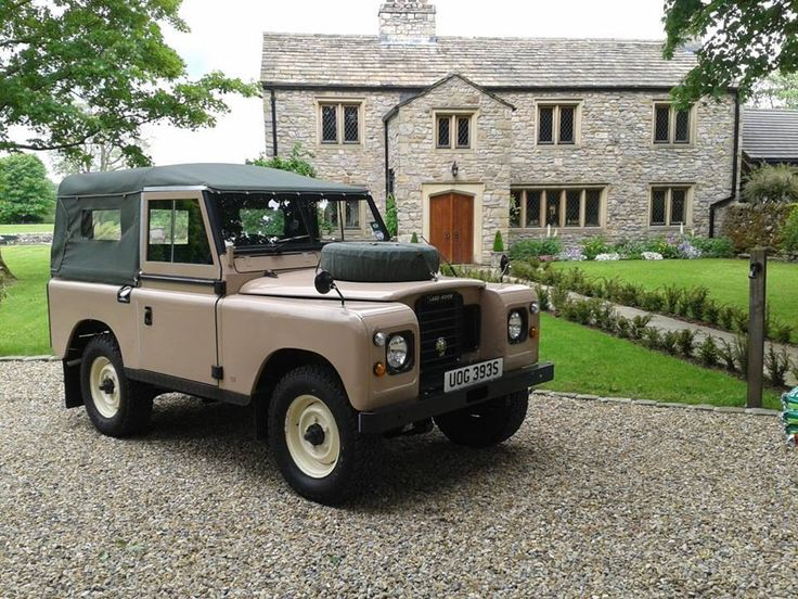 1978 serie 3 Land Rover, Manual, Petrol